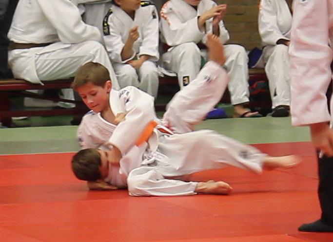 Geldrop judotoernooi voor onze -12 en -15 judoka's 25 maart 2018
