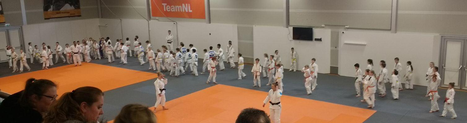 Budodag van de Judo Bond Nederland in Papendal op za. 31 maart