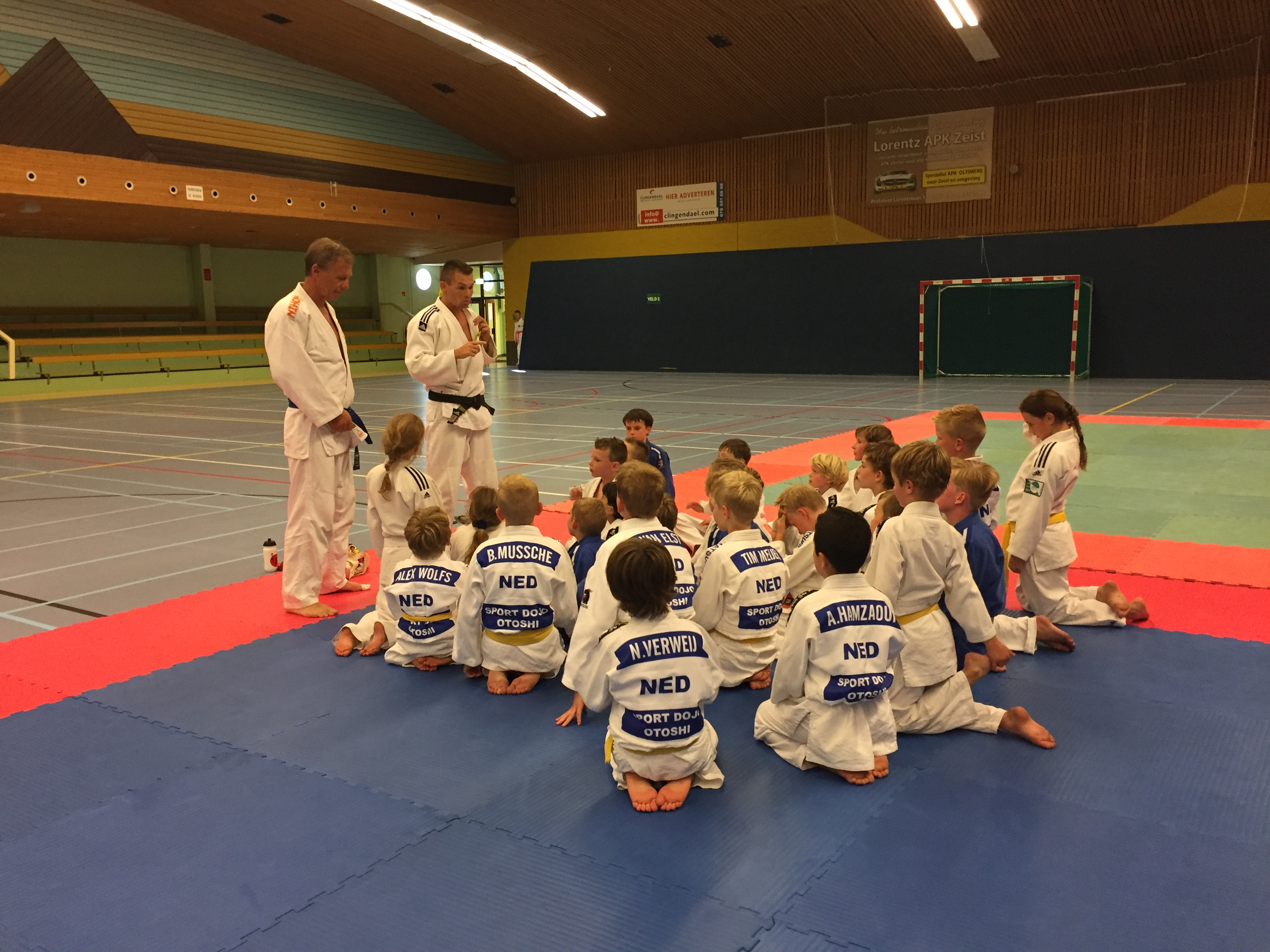 31 mei 2018 Training bij SDO in Zeist