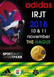 Internationale Residentie Judo Toernooi Den Haag.