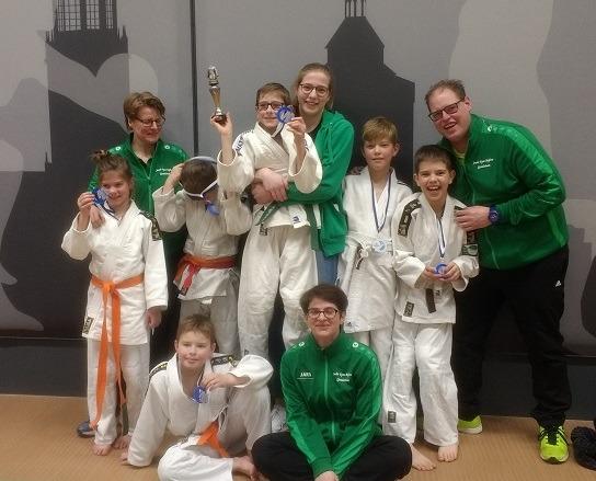 Teams Judo Ryu Rijkse pakken brons in Utrecht
